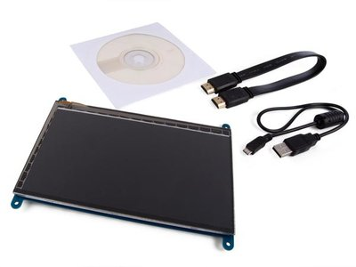 HDMI-B TOUCHSCREEN VOOR PI® - 7