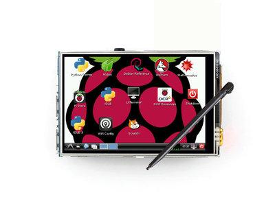 3.5 LCD Touch Screen Display Voor Raspberry Pi 3 A+B B+ 2B 3B