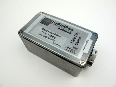 17M HF Band Pass Filter 1KW PEP SSB